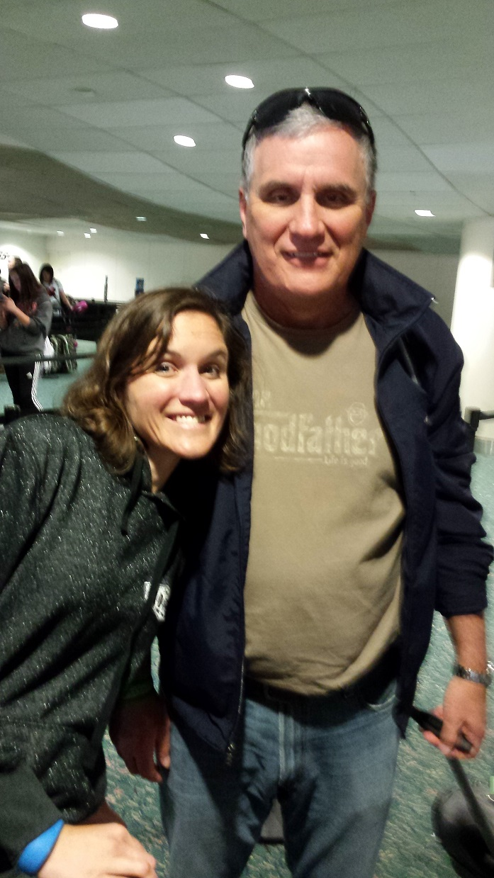 Em and Wendell Orlando Airport Feb 20 2016