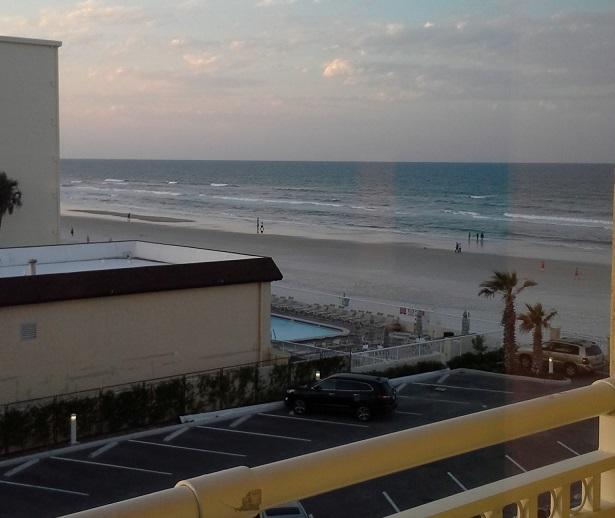 Daytona Hotel Room View May 2016
